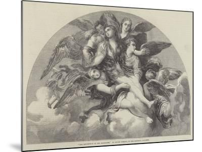 The Assumption of the Magdalen-Giulio Romano-Mounted Giclee Print