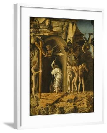 The Descent of Christ into Limbo, C.1475-80-Giovanni Bellini-Framed Giclee Print