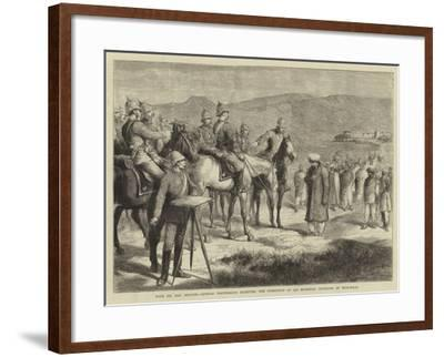 With Sir Samuel Browne-Godefroy Durand-Framed Giclee Print