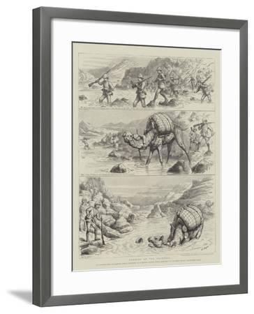 Fording on the Frontier-Godefroy Durand-Framed Giclee Print