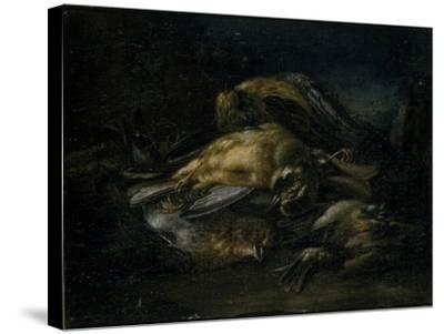 Dead Bird, 1664-Giovanni Benedetto Castiglione-Stretched Canvas Print