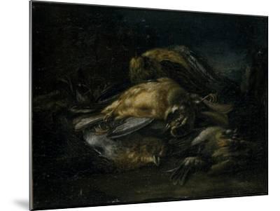 Dead Bird, 1664-Giovanni Benedetto Castiglione-Mounted Giclee Print