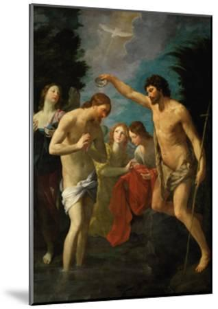 The Baptism of Christ, 1623-Guido Reni-Mounted Giclee Print