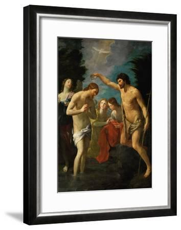 The Baptism of Christ, 1623-Guido Reni-Framed Giclee Print