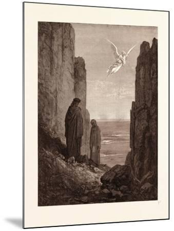 The Angelic Guide-Gustave Dore-Mounted Giclee Print
