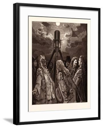 An Animal in the Moon-Gustave Dore-Framed Giclee Print