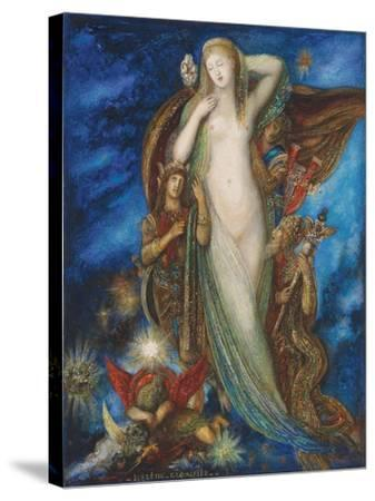 Helen Glorified, 1896-Gustave Moreau-Stretched Canvas Print