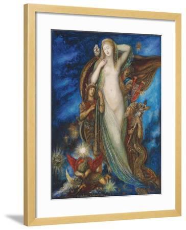 Helen Glorified, 1896-Gustave Moreau-Framed Giclee Print