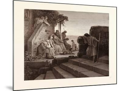 The Return of the Prodigal Son-Gustave Dore-Mounted Giclee Print