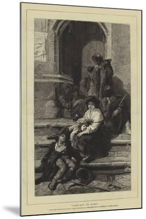 Alms-Day in Rome-Guido Bach-Mounted Giclee Print