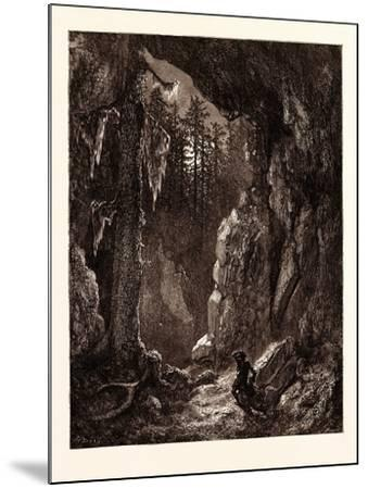Chactas Seeking for the Graves of Father Aubry and Atala-Gustave Dore-Mounted Giclee Print