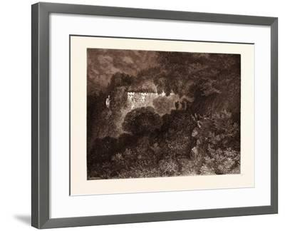 The Palace of Sleep-Gustave Dore-Framed Giclee Print