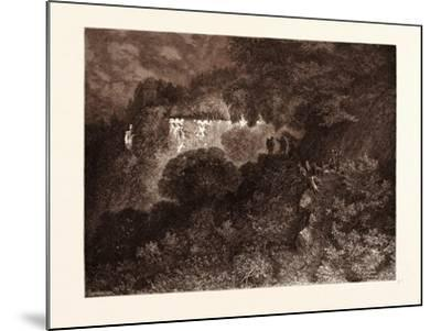 The Palace of Sleep-Gustave Dore-Mounted Giclee Print