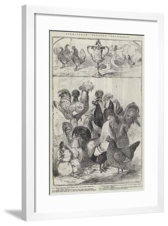 Birmingham Poultry Show-Harrison William Weir-Framed Giclee Print