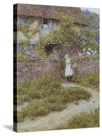 At Sandhills-Helen Allingham-Stretched Canvas Print