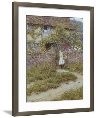 At Sandhills-Helen Allingham-Framed Giclee Print