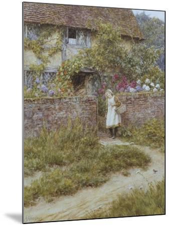 At Sandhills-Helen Allingham-Mounted Giclee Print