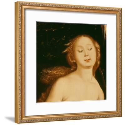 Detail from Eve, the Serpent and Death-Hans Baldung Grien-Framed Giclee Print