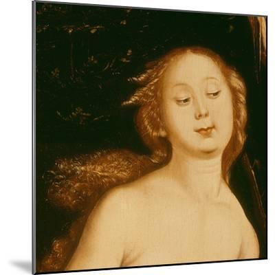 Detail from Eve, the Serpent and Death-Hans Baldung Grien-Mounted Giclee Print