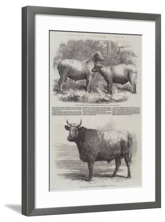 Poissy Cattle Show-Harrison William Weir-Framed Giclee Print