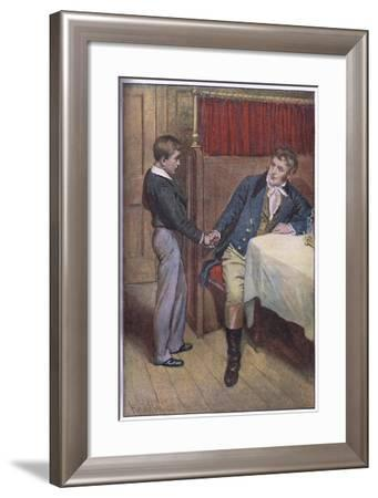 I'Ll Try Father-Harold Copping-Framed Giclee Print