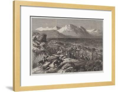 A Recent Wild-Boar Hunt in Algeria-Harrison William Weir-Framed Giclee Print