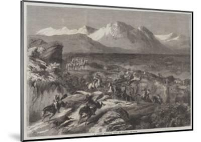A Recent Wild-Boar Hunt in Algeria-Harrison William Weir-Mounted Giclee Print