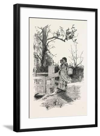 Shutting the Lock Gates-Hector Caffieri-Framed Giclee Print