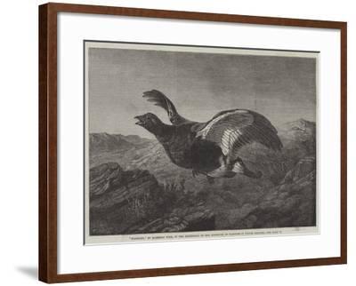 Startled-Harrison William Weir-Framed Giclee Print