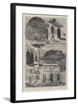 A Trip to Tuy and Valenca, on the Boundaries of Portugal and Spain-Henri Lanos-Framed Giclee Print