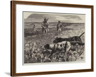 The First of September, Partridge-Shooting-Harrison William Weir-Framed Giclee Print