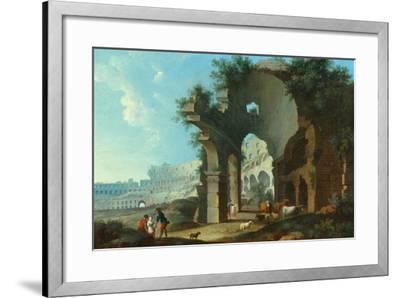 The Colosseum at Rome-Hendrik Van Lint-Framed Giclee Print
