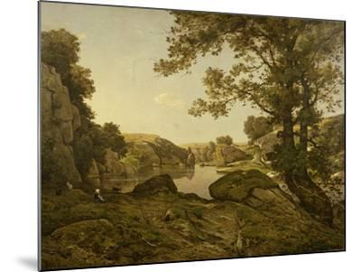 Le Saut De Loup-Henri-Joseph Harpignies-Mounted Giclee Print