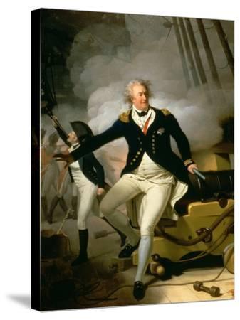 Admiral Adam Duncan, 1st Viscount Duncan of Camperdown (1731-1804) 1798-Henri-Pierre Danloux-Stretched Canvas Print
