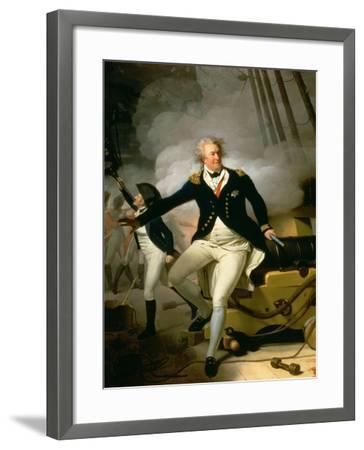 Admiral Adam Duncan, 1st Viscount Duncan of Camperdown (1731-1804) 1798-Henri-Pierre Danloux-Framed Giclee Print