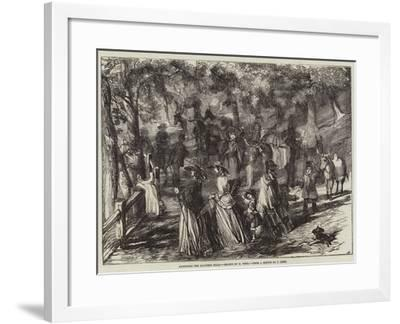 Ascending the Malvern Hills-Harrison William Weir-Framed Giclee Print