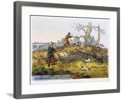 Woodcock Hunting, 1820-Henry Alken-Framed Giclee Print
