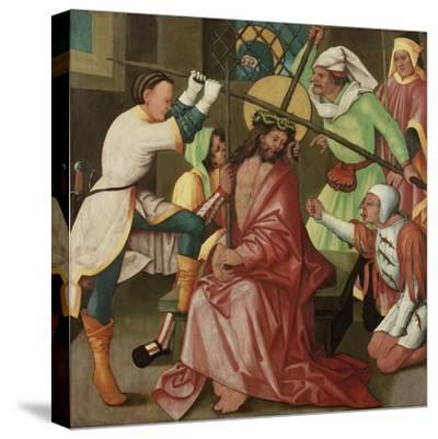 The Reviling of Christ, C.1510-30-Hans Leonard Schaufelein-Stretched Canvas Print