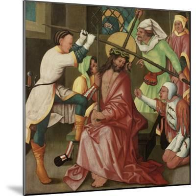 The Reviling of Christ, C.1510-30-Hans Leonard Schaufelein-Mounted Giclee Print