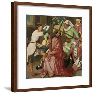 The Reviling of Christ, C.1510-30-Hans Leonard Schaufelein-Framed Giclee Print
