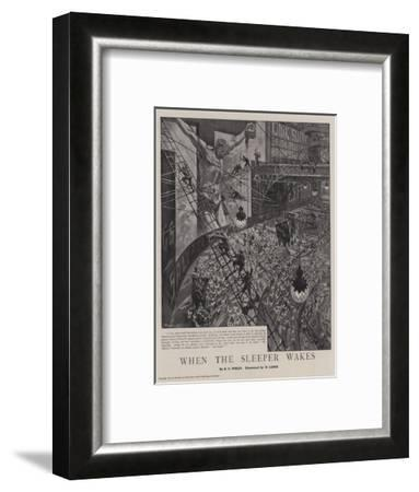 When the Sleeper Wakes-Henri Lanos-Framed Giclee Print