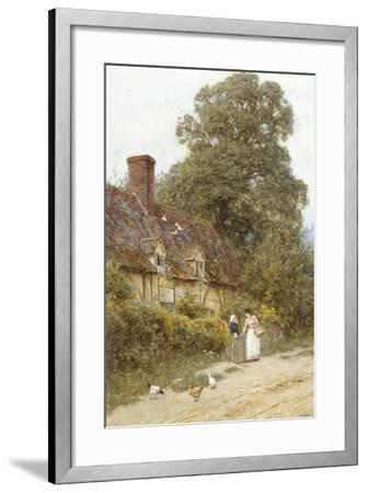 Old Post Office, Brook, Near Witley-Helen Allingham-Framed Giclee Print