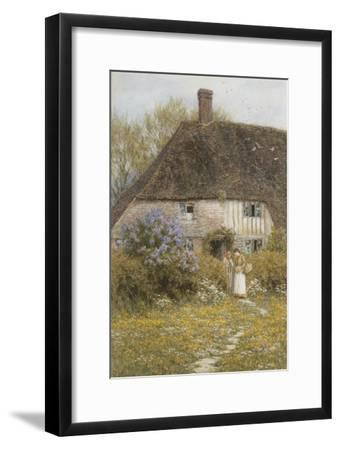 A Kentish Cottage-Helen Allingham-Framed Giclee Print