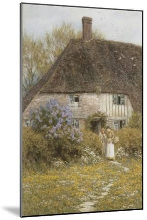 A Kentish Cottage-Helen Allingham-Mounted Giclee Print