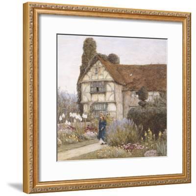Old Manor House-Helen Allingham-Framed Premium Giclee Print