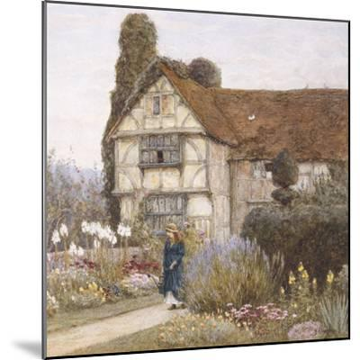 Old Manor House-Helen Allingham-Mounted Premium Giclee Print