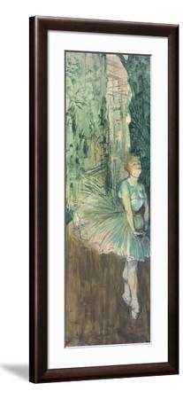 Dancer, 1895-96-Henri de Toulouse-Lautrec-Framed Giclee Print