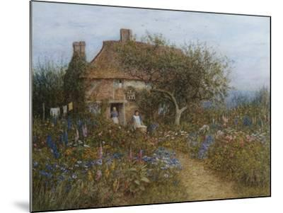 A Cottage Near Brook, Witley, Surrey-Helen Allingham-Mounted Giclee Print