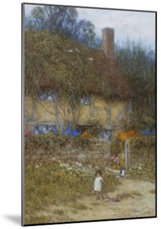 A Cottage Near Godalming, Surrey-Helen Allingham-Mounted Giclee Print