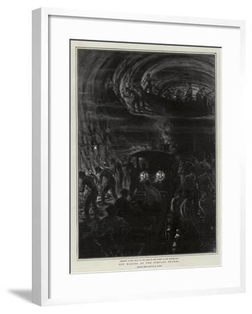 The Making of the Simplon Tunnel-Henri Lanos-Framed Giclee Print